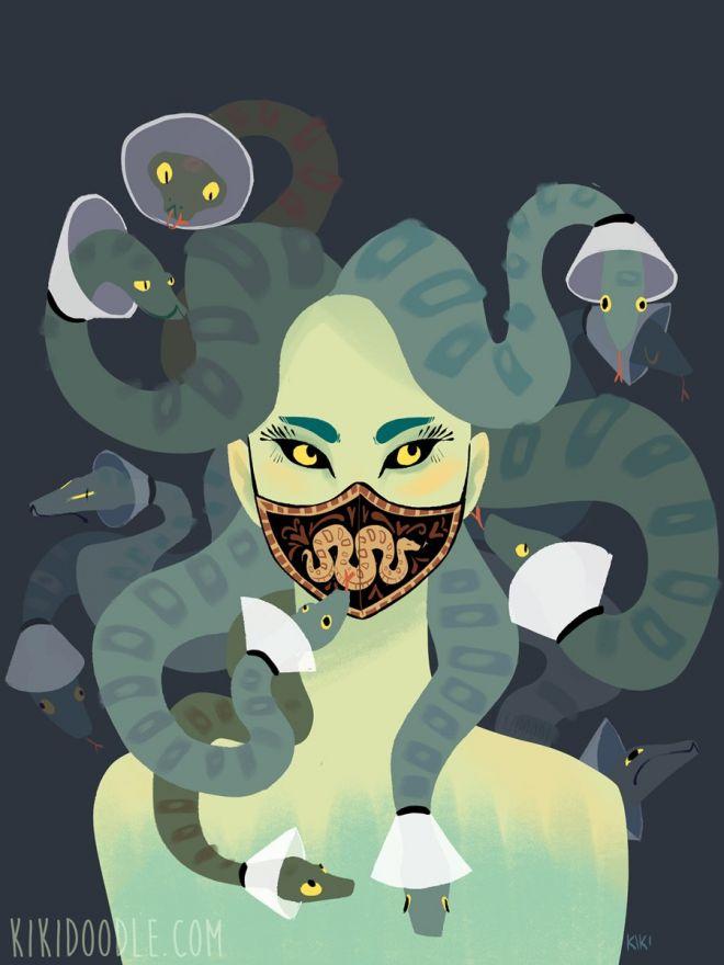 medusa cones copyright